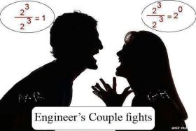 Engineers Couple Fights