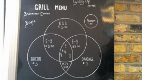 Grill Menu for nerds