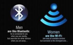 Men Are Like Bluetooth