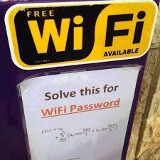 Solve for WiFi Password