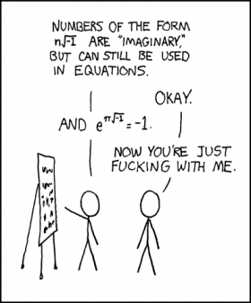 Imaginary number difficulties